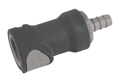 Connector -non spill, 3/8″, hose barb, female