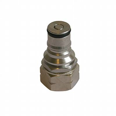 "Coupler -Hansen, male, 1/2"", CO2"