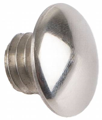 Blindplug -Medallion, 3/8″, chrome