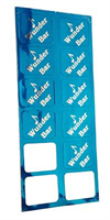 Label -Wunder-bar, blue