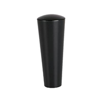 Handle -US tap, black, plastic