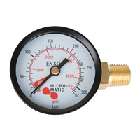 Manometer -1/4″NPT, 0-315bar