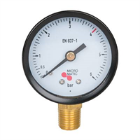 Manometer -1/4″NPT, 0-6/4bar