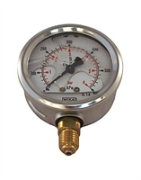 Manometer -2750, dim63, G1/4, 6bar