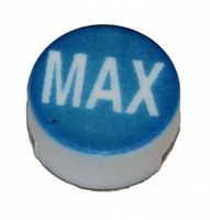Button -Pepsi Max, Wunder-bar, white on blue