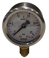 Manometer -0-25bar