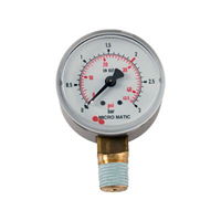 Manometer -1/4″NPT, 0-3/2bar