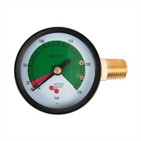 "Manometer -1/4""NPT, 0-250bar"