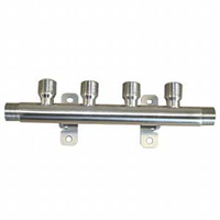 Manifold -4+1 Beer, 1/2″, ss