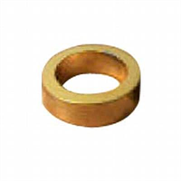 Spacer -gold, 10 mm id.5/8″
