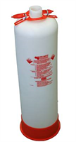 Cleaning bottle -15L, Plastic, slim