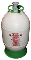 Cleaning bottle -S-system, 50L, Plastic